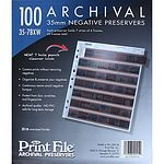 PRINTFILE Negativhüllen 35-7BXW 100 Blatt, für 7x 6er-KB, PE