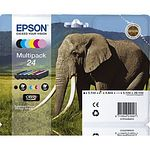EPSON 24XL Multipack Claria Photo HD mit 6 Tintenpatronen