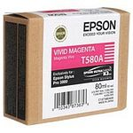 EPSON T580A Tintenpatrone vivid magenta 80ml