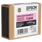 EPSON T580B Tintenpatrone vivid light magenta 80ml