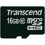 TRANSCEND Secure Digital microSDHC 16GB Class 4